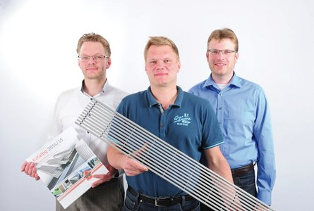 Today, Richard Brink GmbH & Co. KG is managed by brothers Sebastian, Matthias and Stefan Brink (left to right).