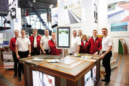 To kick off the new financial year, the team from the metal products manufacturer came away with an extremely positive outlook after their successful trade fair appearance and were happy with the way DACH+HOLZ International 2020 went.